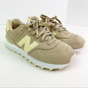 New Balance Women's 574 Miami Palms Sand Pollen